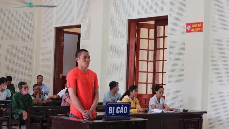 Bị cáo Lương Văn Vương.