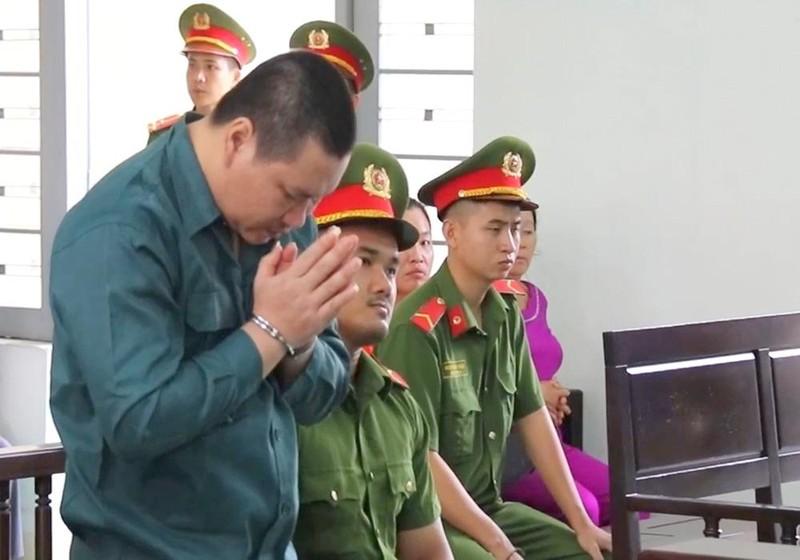 Bị cáo Nguyễn Thanh Tâm xin được pháp luật khoan hồng khi nói lời sau cùng.