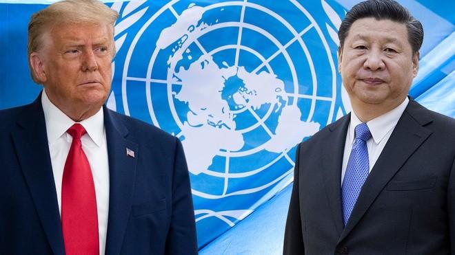 Tổng thống Mỹ và Chủ tịch Trung Quốc bày tỏ quan điểm khác biệt trong Đại hội đồng Liên Hợp quốc.
