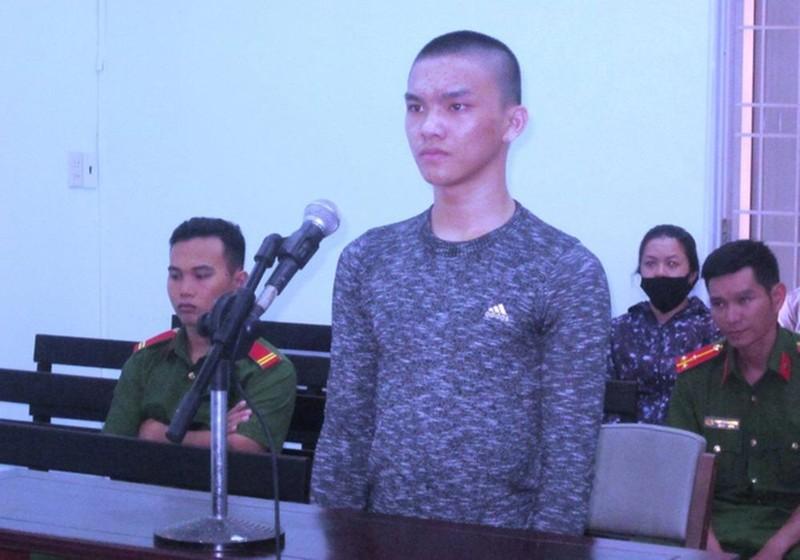 Bị cáo Nguyễn Võ Ngọc Bảo.