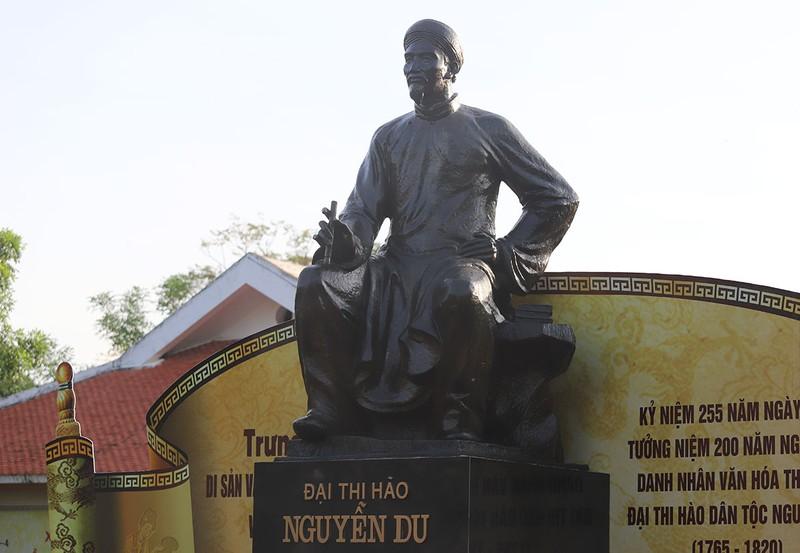 Tượng đài Nguyễn Du - Đại thi hào dân tộc, Danh nhân văn hóa thế giới.