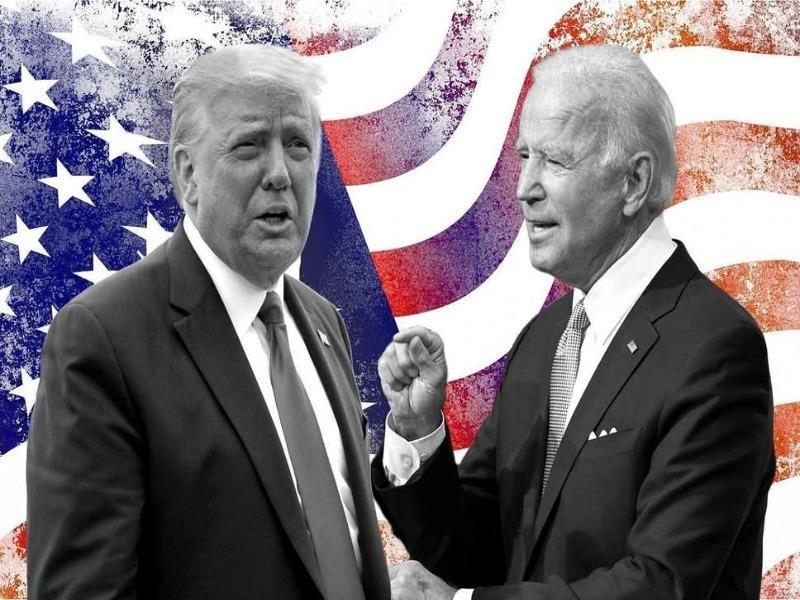 Tổng thống Donald Trump và ứng viên Joe Biden.