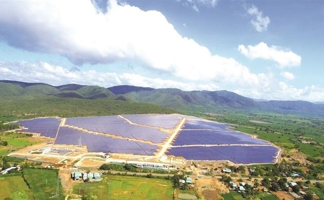 Nhà máy điện mặt trời Krông Pa (tỉnh Gia Lai).