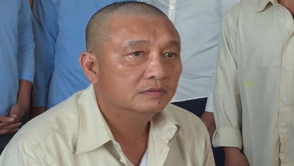 Đối tượng Võ Văn Hải tại cơ quan điều tra.