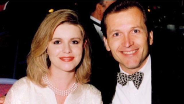 Vợ chồng Michele, Martin thuở mặn nồng.