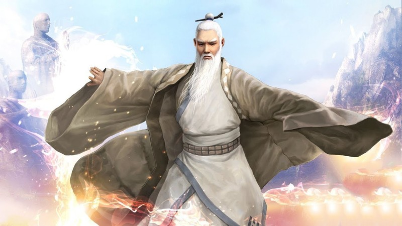 Trương Tam Phong, người lập ra phái Võ Đang.