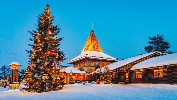 Lapland là khu vực phía Bắc Phần Lan, đặc trưng khí hậu cận Bắc cực khắc nghiệt.