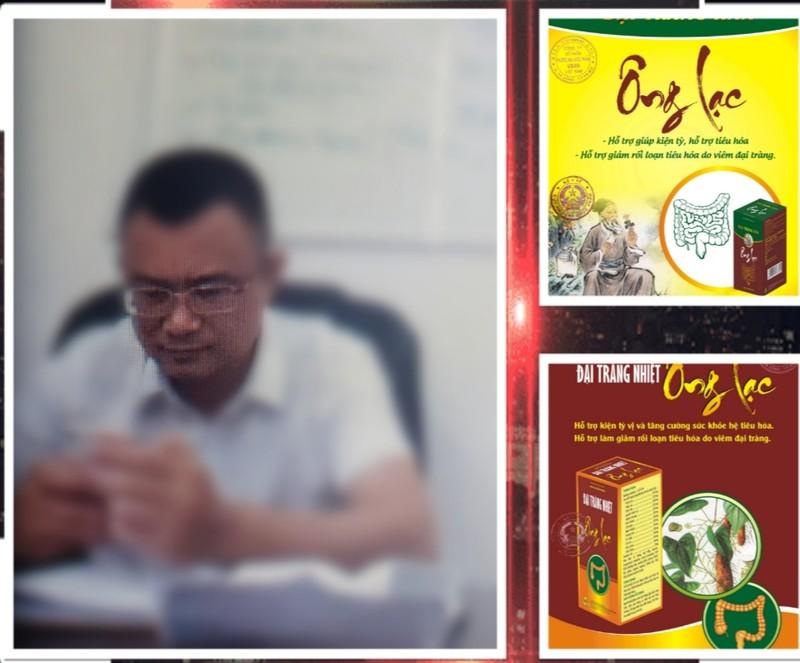 Người đàn ông tên Du tư vấn sản phẩm Đại tràng Ông Lạc.