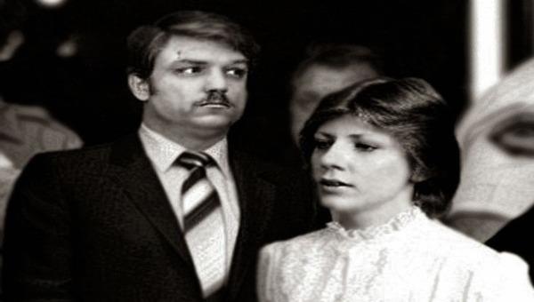 Cặp tình nhân Gerald và Charlene ngày bị dẫn giải ra tòa.