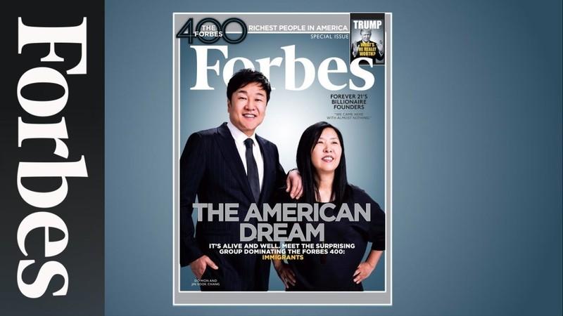 Tỷ phú Do Won Chang trên trang bìa tạp chí Forbes.