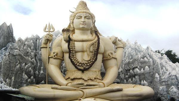 Hình tượng thần Siva trong Ấn Độ giáo.