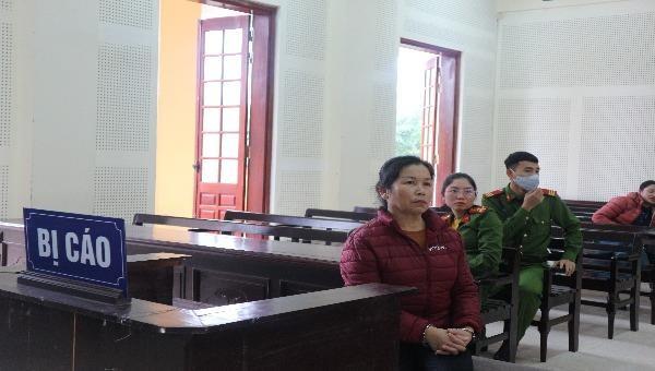 Bị cáo Lô Thị Phương.