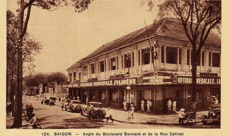 Một tiệm thuốc tại Sài Gòn của dược sĩ La Thành Nghệ (ảnh tư liệu).