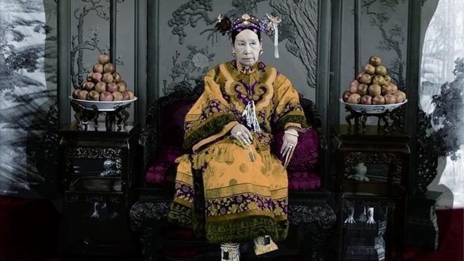 Những loại hoa quả luôn được bày chính trong phòng của Từ Hy Thái hậu.