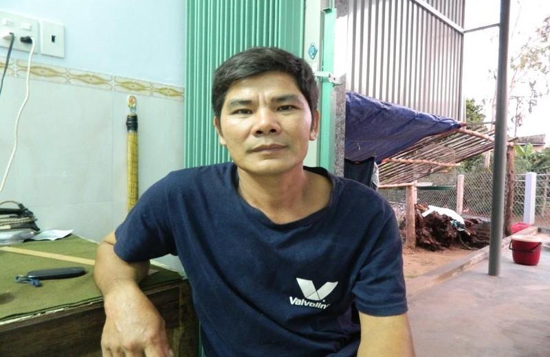 Ông Thân sau hơn 20 năm chữa khỏi bệnh hội chứng thận hư