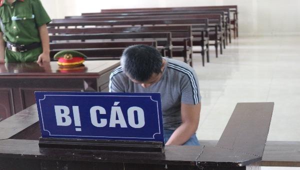 Bị cáo Nguyễn Hữu Thọ.