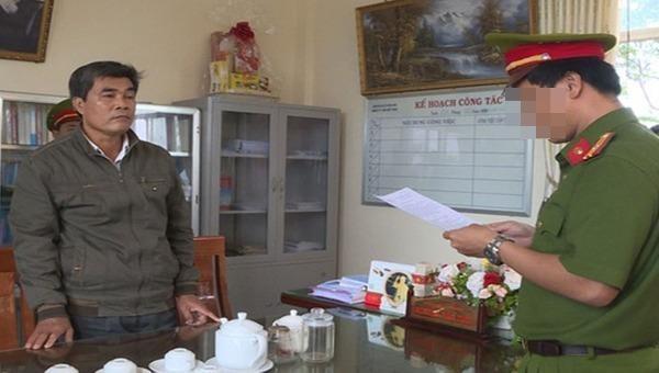 Bị can Nguyễn Văn Tiên thời điểm bị khởi tố, bắt tạm giam.