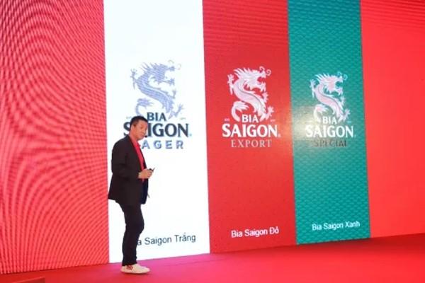 Diện mạo mới của bia Sài Gòn.
