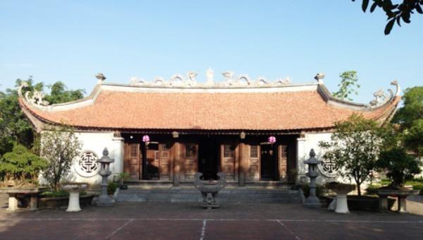 Khu di tích đền thờ Lưỡng quốc Trạng nguyên Mạc Đĩnh Chi.