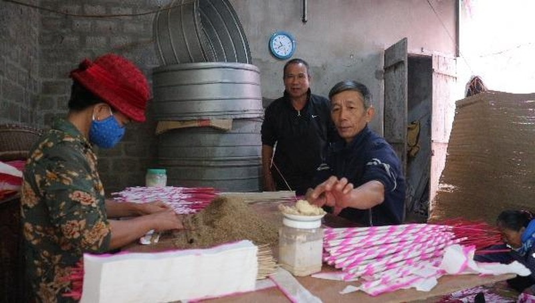 Giữ hồn cho hương trầm làng Quỳnh xứ Nghệ