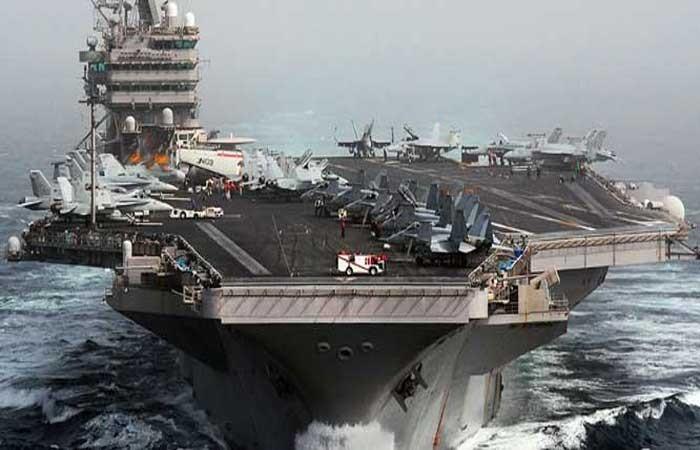 Tàu sân bay USS Nimitz đã được rút về.