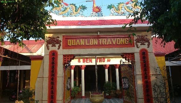 Miếu thờ Quan lớn Trà Vong Huỳnh Công Giản.