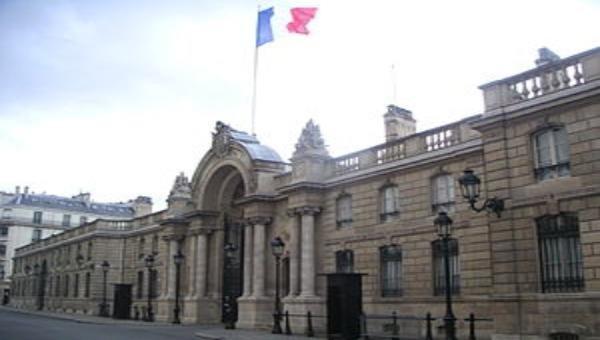 Điện Elysée Guillaume Gomez dinh Tổng thống Pháp.