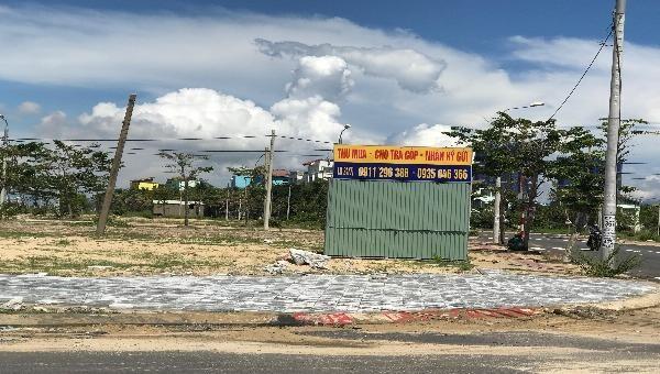 Các dự án tại Khu đô thị Điện Nam Điện Ngọc chưa được phép mở bán và còn đang bị kiện.