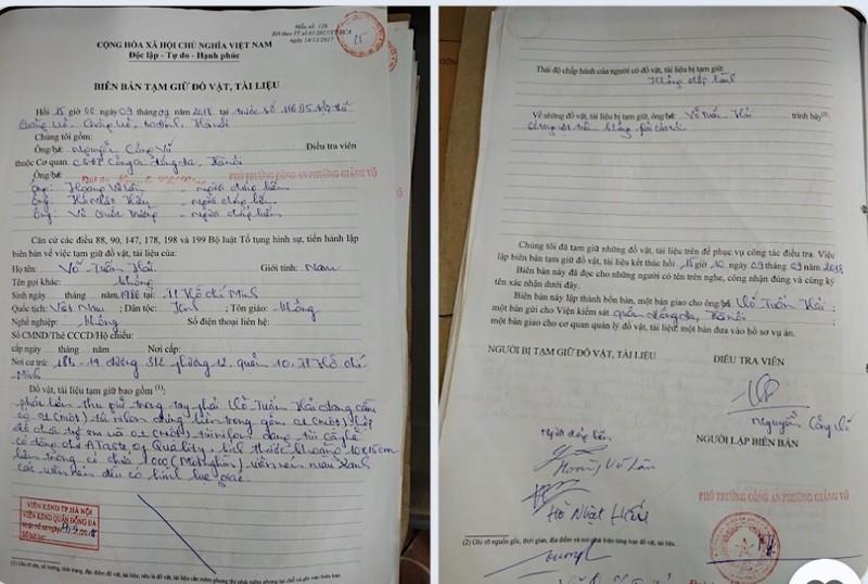 """Tiếp vụ bị cáo Võ Tuấn Hải kêu oan:  Bất thường những bút lục """"siêu tốc"""""""