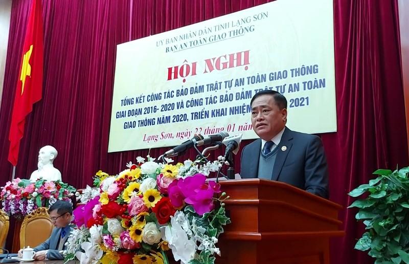 Lạng Sơn: Tổng kết công tác đảm bảo trật tự an toàn giao thông giai đoạn 2016 – 2020 và triển khai nhiệm vụ năm 2021