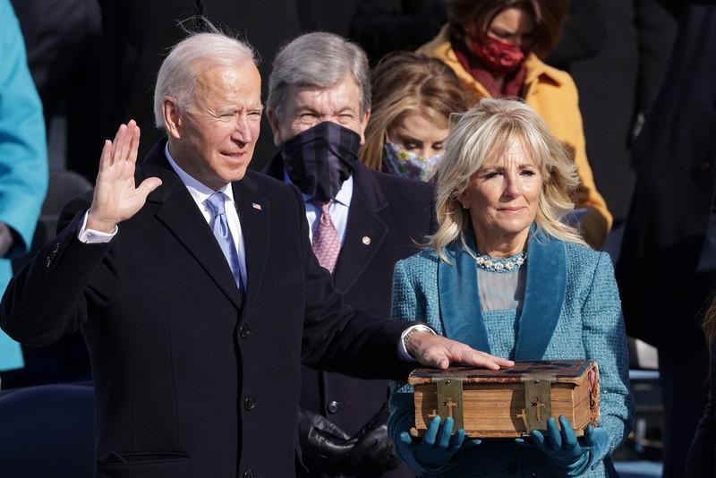 Ông Biden phải đối mặt với nhiều khó khăn sau khi nhậm chức.