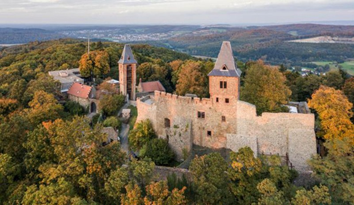 """Đến lâu đài Frankenstein nước Đức """"săn ma"""""""