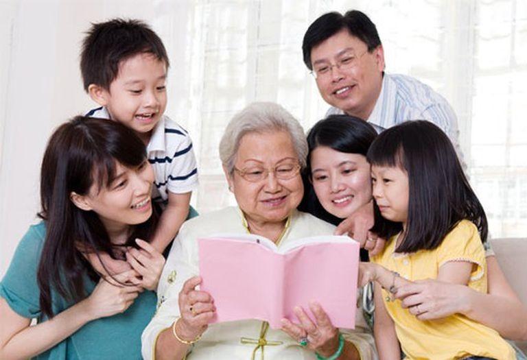 Khi cha mẹ chúng mình già đi
