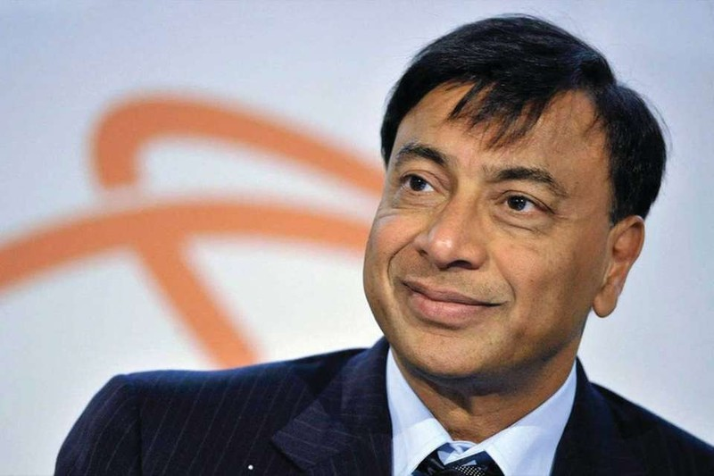 Tỷ phú ngành thép Ấn Độ Lakshmi Mittal .