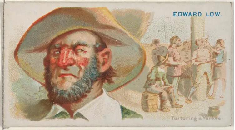 Tên cướp biển hiện thân của quỷ dữ - (Bài 1): Những phi vụ cướp bóc tàn bạo của Edward Low