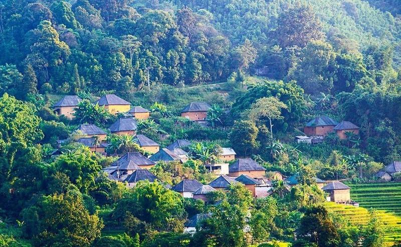 Bản làng tuyệt đẹp người Hà Nhì.