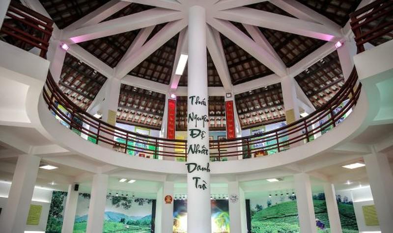 Đặc sắc Không gian văn hóa trà Tân Cương.