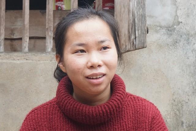 Nữ sinh Nguyễn Thị Oanh.