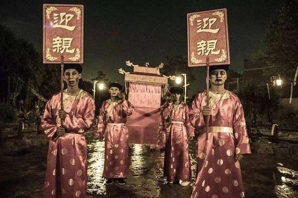 """Ghê rợn """"đám cưới ma"""" của người Trung Quốc"""