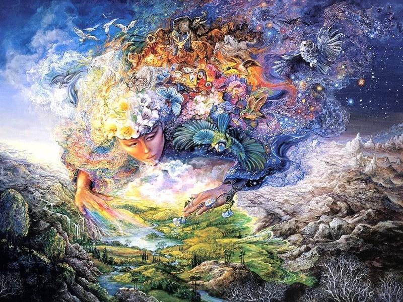 Nữ thần Gaia.
