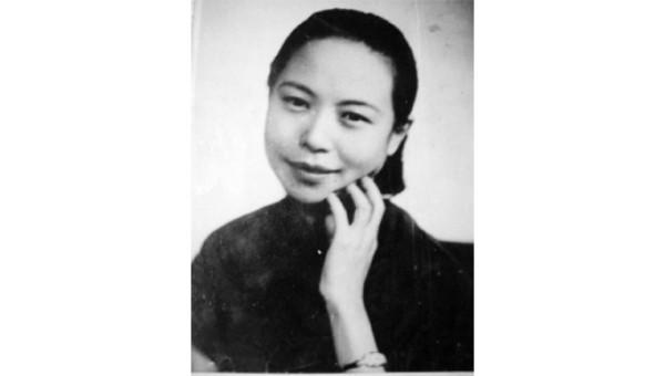 Chân dung Văn Tú sau khi bà ly hôn với Hoàng đế Phổ Nghi.