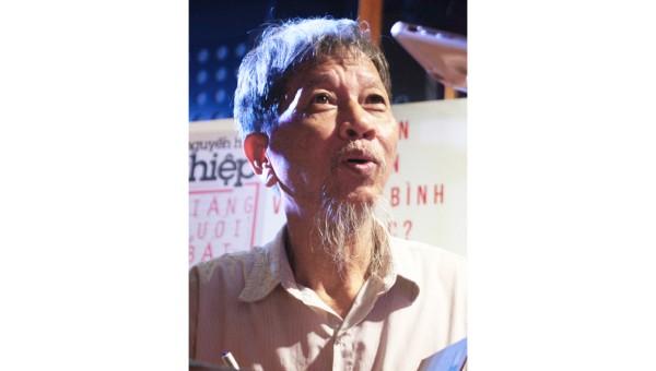 Nhà văn Nguyễn Huy  Thiệp (ảnh iternet).