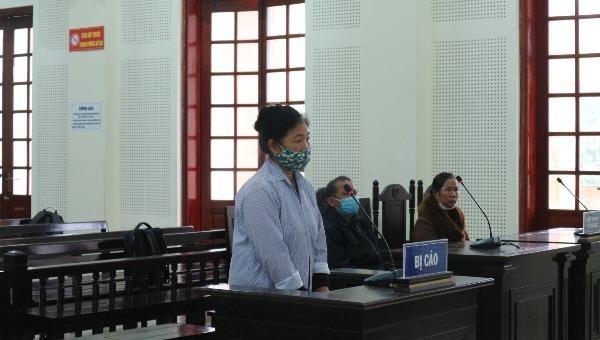 Bị cáo Xên Thị Nhung.