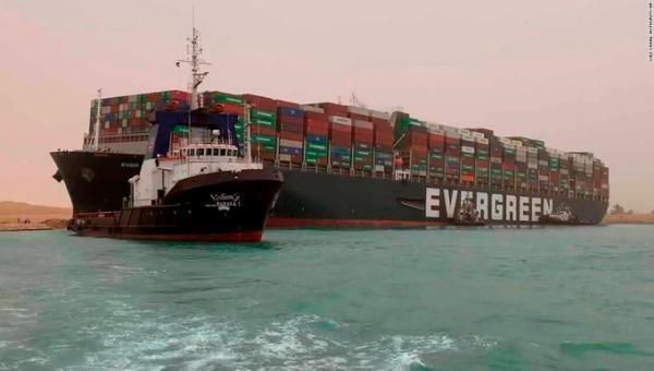 Tàu Ever Given đã được giải cứu.