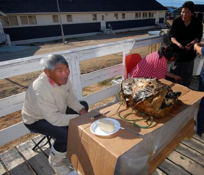 Kiviaq - món hải cẩu nhồi chim chết có mùi vị kinh dị.