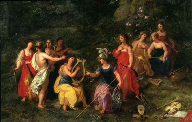 Thần thoại Hy Lạp: Những nữ thần trao nguồn cảm hứng cho các thi nhân trong lịch sử