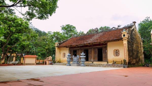 Di tích lịch sử cấp quốc gia Đền thờ Tồng Trân ở Phủ Cừ (Hưng Yên).