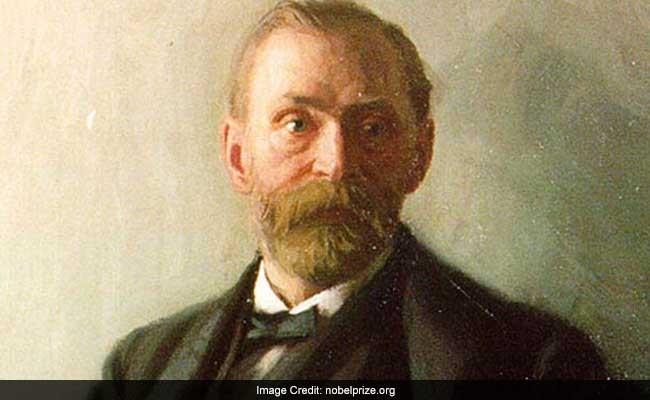 Nhà sáng chế Alfred Nobel.