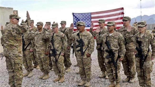 Binh lính Mỹ tại Afghanistan.