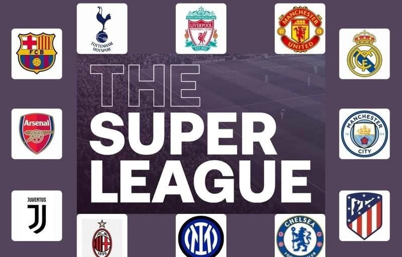 European Super League - giải đấu mới đe dọa sự sinh tồn của UEFA